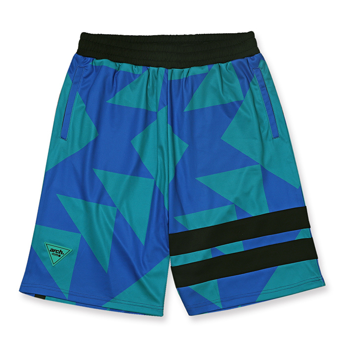 Arch sporty logo shorts【turquoise】のイメージ