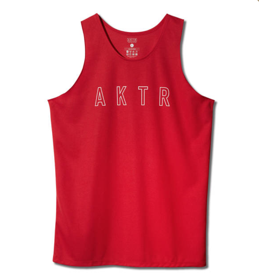AKTR BASIC LOGO TANK REDのイメージ